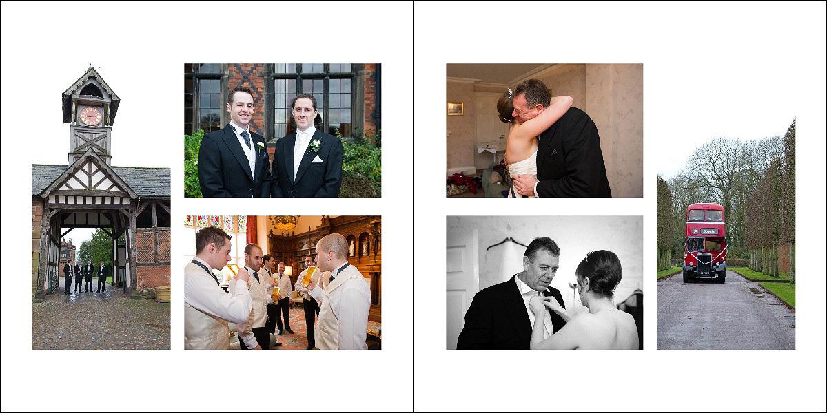 Jorgensen 12x12 Inch Art Matted Wedding Album Design